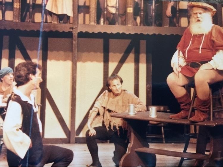 - mid-80s, globe theatre west h - faddah   ello