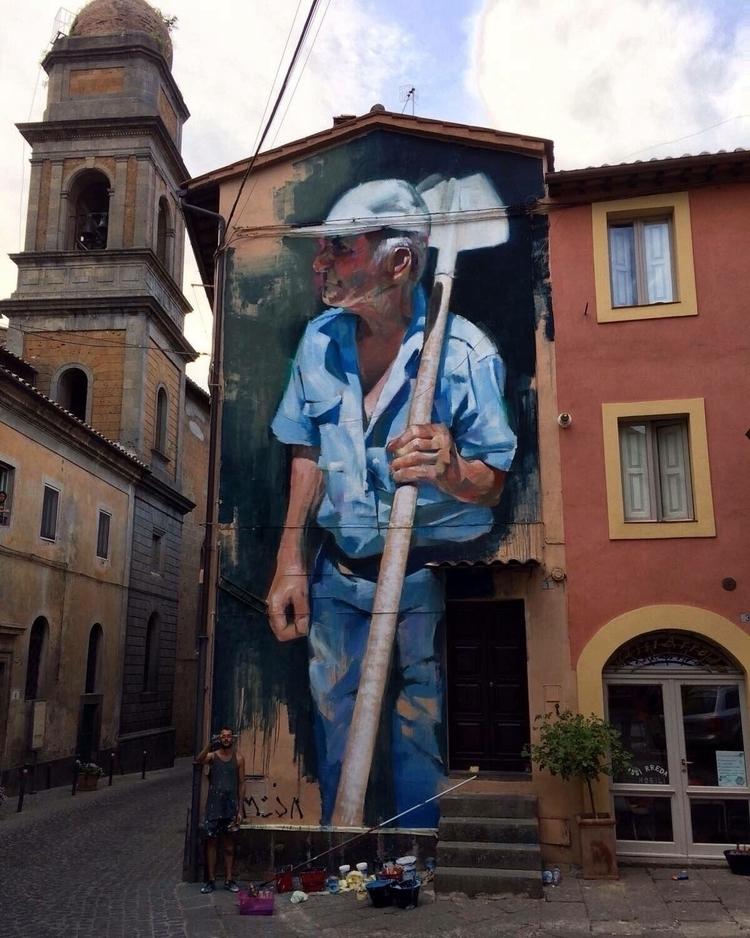 Portrait osvaldo Artist: Manolo - streetartunitedstates | ello