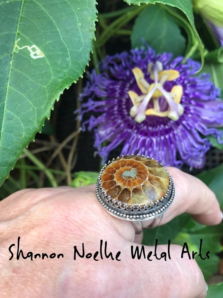 sacred spiral, grow expanding u - shannon_noelke_metal_arts | ello