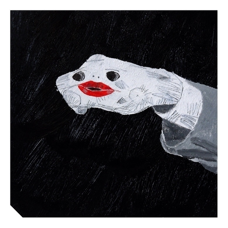 Monologue. 30x30cm, 2015 - art, hell - carpmatthew | ello