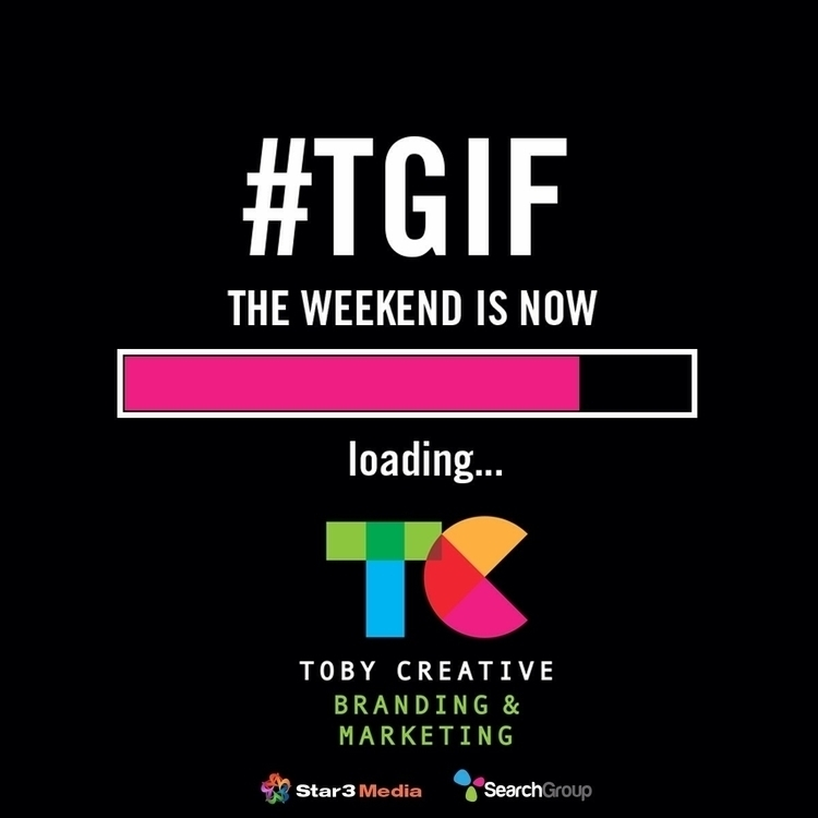 great week, weekend loading...  - tobycreative | ello