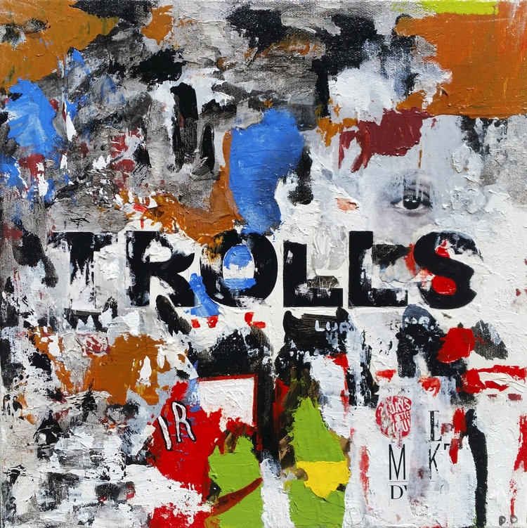Title: Trolls Size: 12″X12″ Med - damionismyname | ello