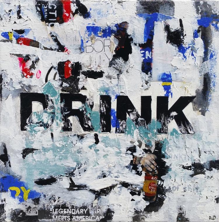 Title: Drink Size: 12″X12″ Medi - damionismyname | ello