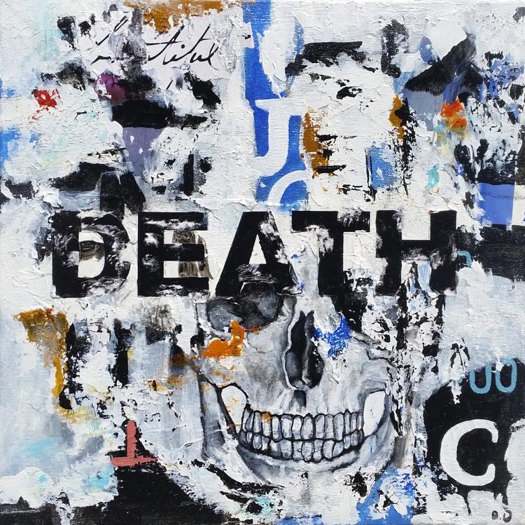 Title: Death Size: 12″X12″ Medi - damionismyname | ello