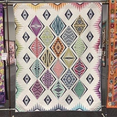 quilt Sydney Craft Quilt show  - fabricgarden | ello