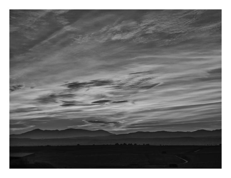 Sunset, Brunete, (Madrid) Spain - guillermoalvarez | ello