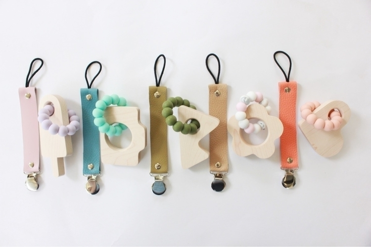 Soother clips + teethers sale - thebabyniche | ello