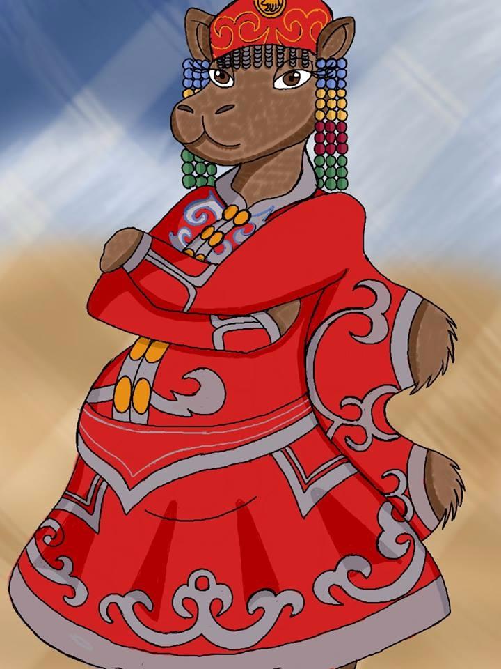 Temee Mongolian Bactrian Camel  - brandon_omega-x | ello
