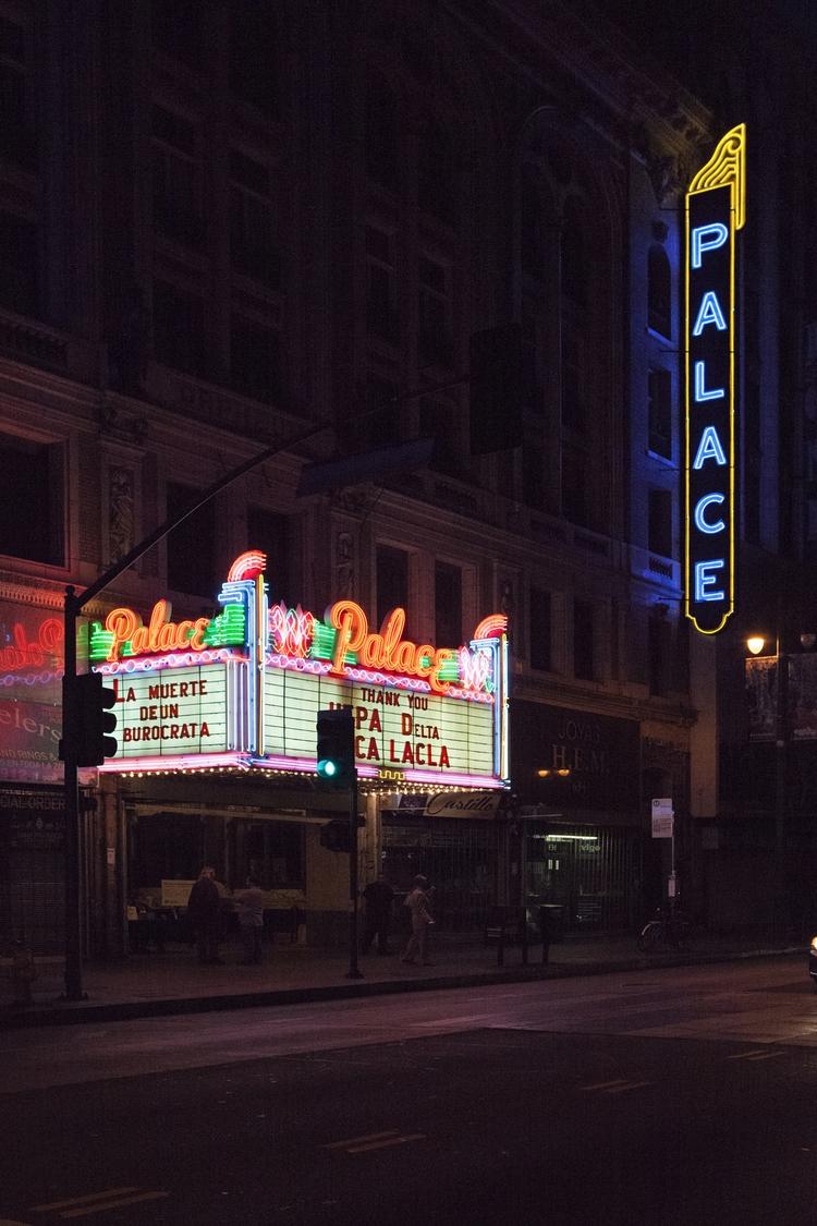 Palace Theater, Broadway, DTLA  - odouglas   ello