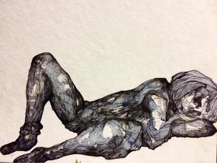 Title: Side prospective - watercolor - jacobbayneartist | ello