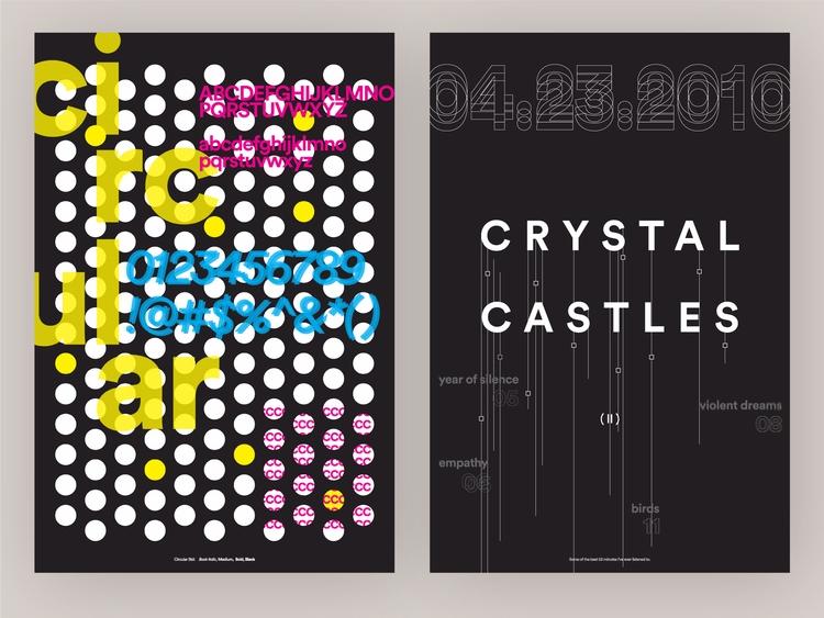 Type Specimen Poster Series - 2 - vnthony | ello