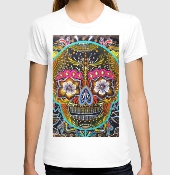SUGAR SKULL sale - skull, tshirt - trinkl | ello