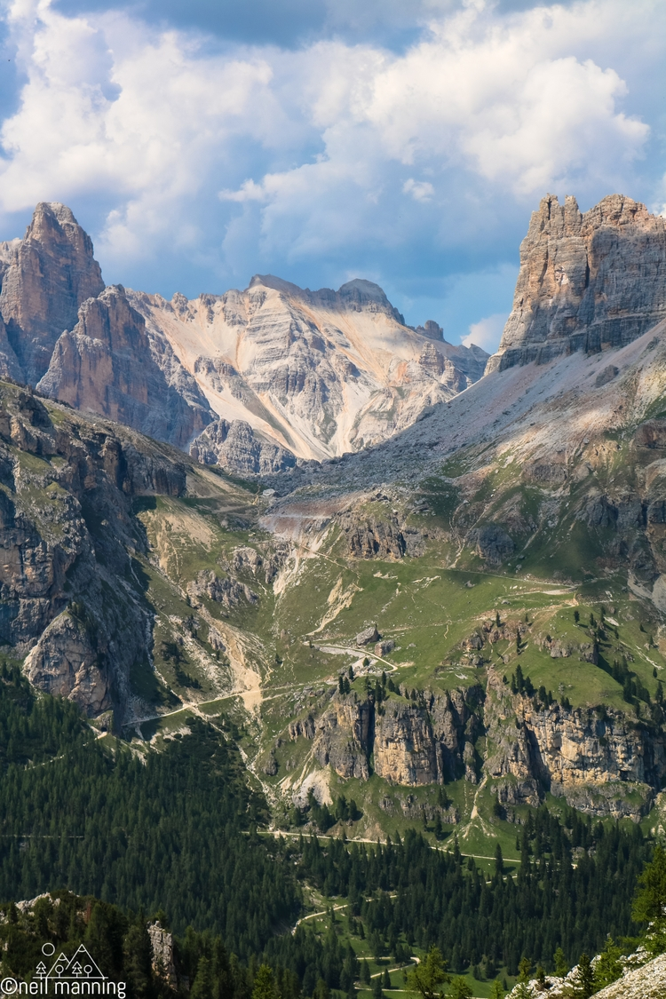 Paths paths intersect Dolomite  - the-wooks   ello