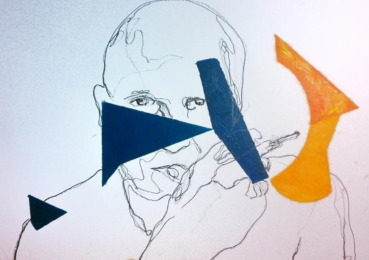 Picasso ///// *ink oil paper*  - guiart | ello