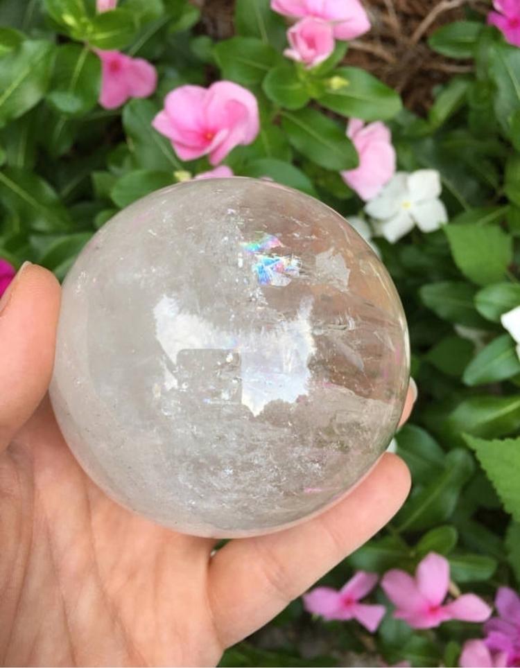 Amazing HUGE Clear Quartz Spher - ctcrystals | ello