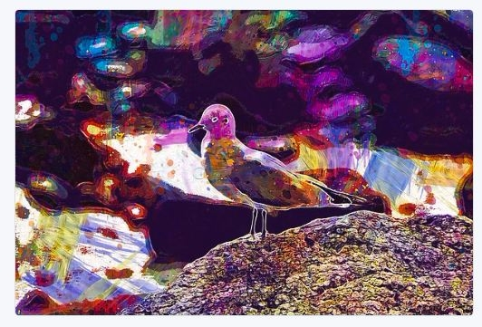 artwork, sale!, Seagul, painting - pixbreak | ello