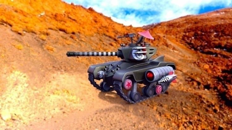 recreated Tank tank comic blend - system73554 | ello