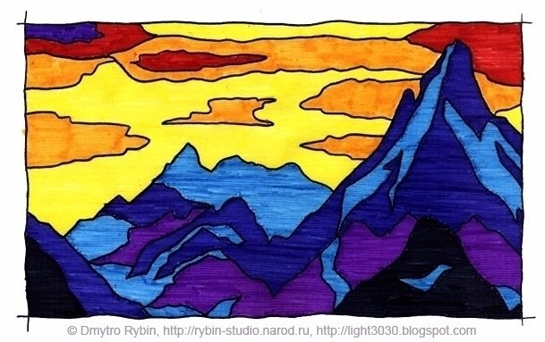 Based Nicholas Roerich. Colorin - dmytroua | ello