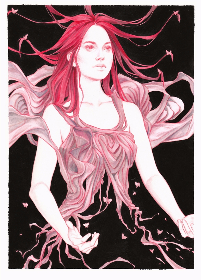 'Red' Djamila Knopf. 8.3 11.7 c - geekynerfherder   ello