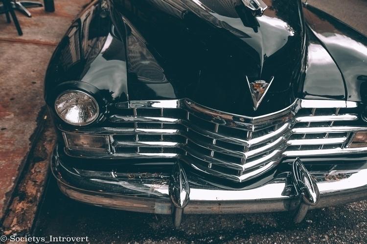 Black Cadillac Street photograp - shanobi_juan_kanobi | ello