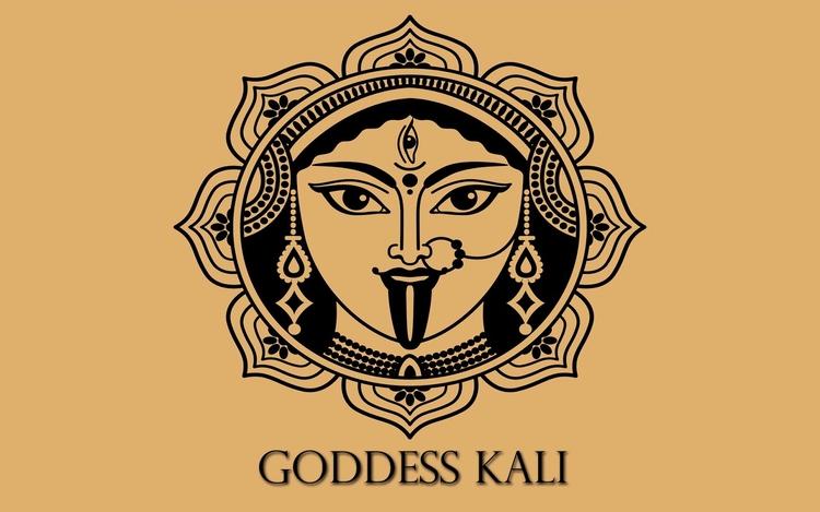 mystical mask Goddess Kali - hindu - notjustanopinion | ello