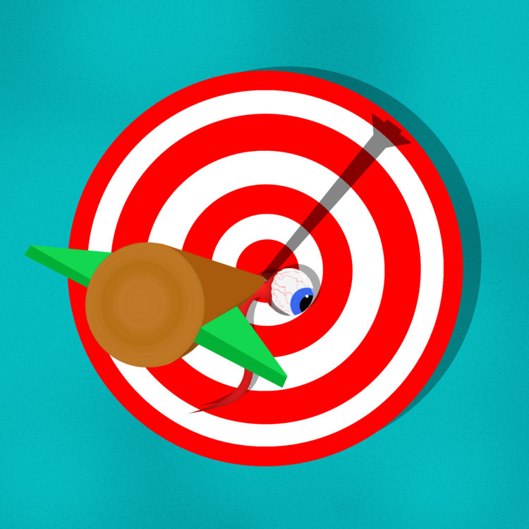 Bullseye Mark - daily, photoshop - malcolmcrowther | ello