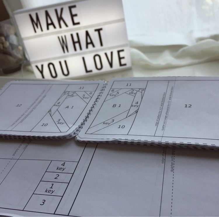 love making Pattern Kitty Wilki - laquintaquilts | ello