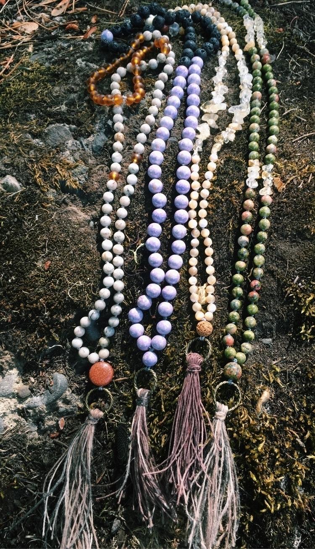 vibrant colorful Malas Etsy - ellojewels - gypsyxjewels | ello