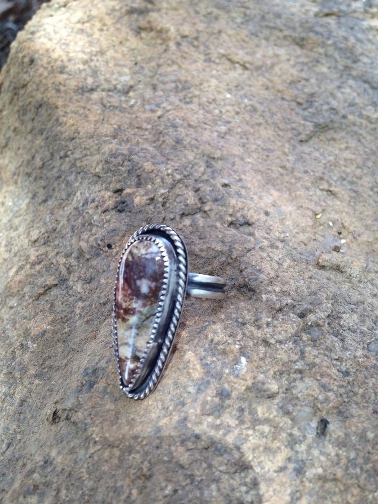 Sterling silver wild horse magn - skinnyfishaz | ello