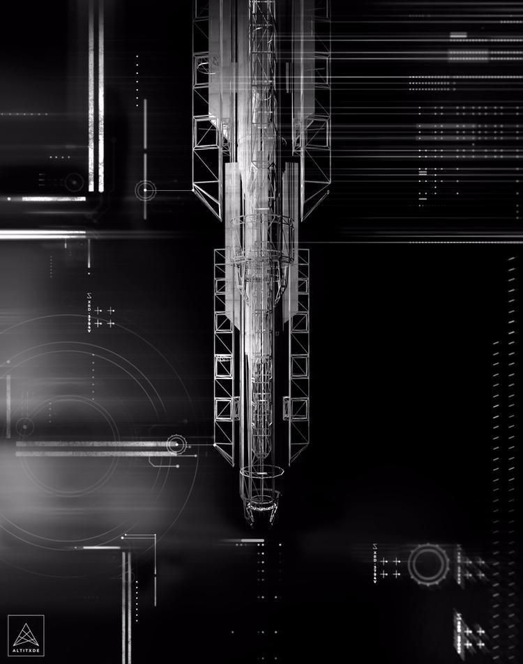 EMPIRE X9 - 3d, cinema4d, maya, scifi - altitxde | ello