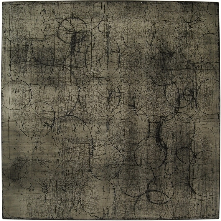 title x125 cm - 125, oil, ink, canvas - kravagna | ello