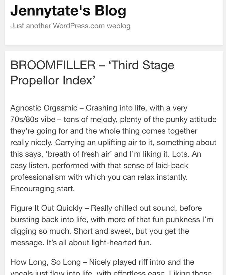 Check awesome review!! Jenny Ta - broomfiller | ello