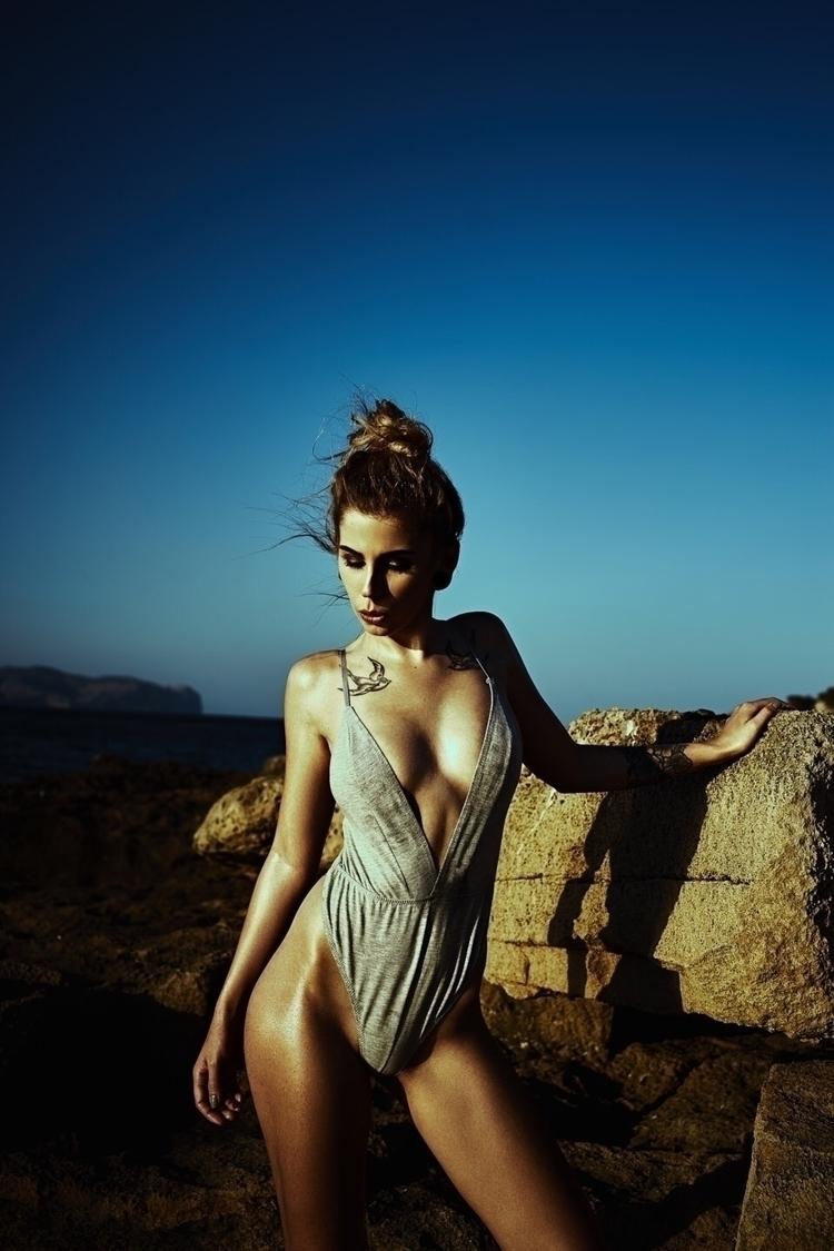 Anja lingerie - swimwear, sky, ocean - tomhart   ello