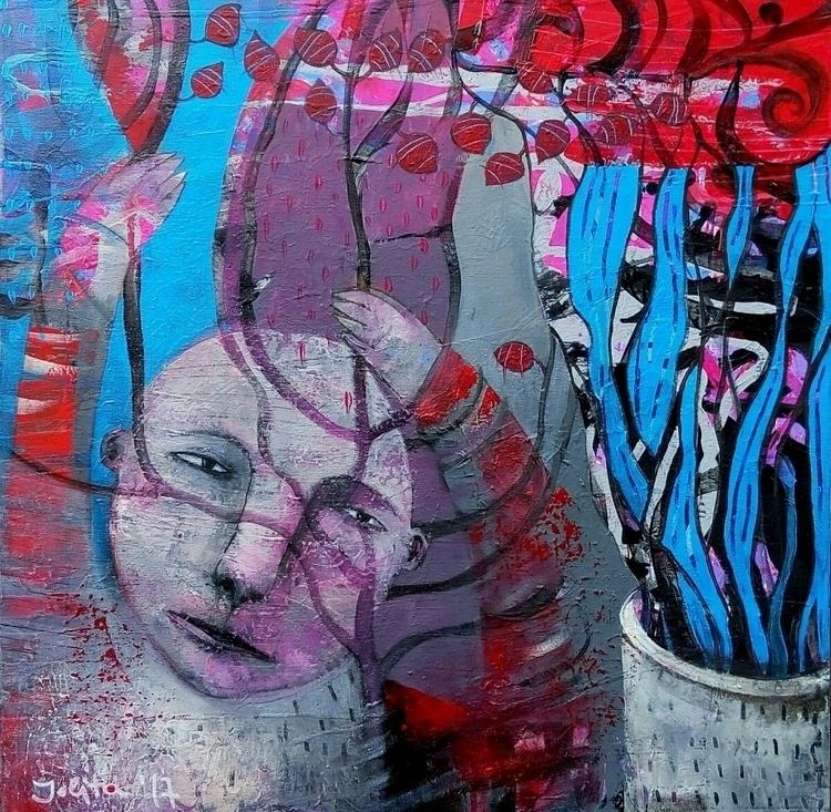 acrylic canvas 60X60 jolita.cc - jolitacc | ello