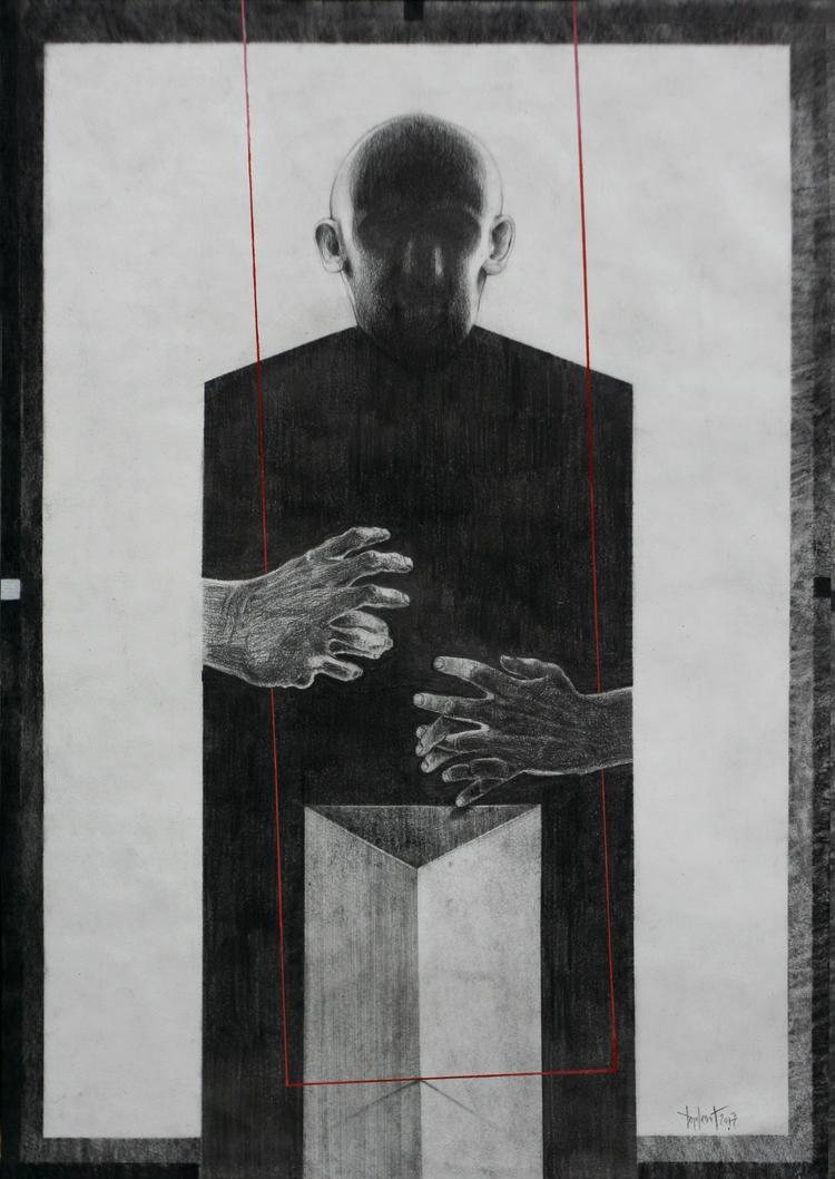 Apparatus II, graphite acrylic - milosdjordjevic | ello