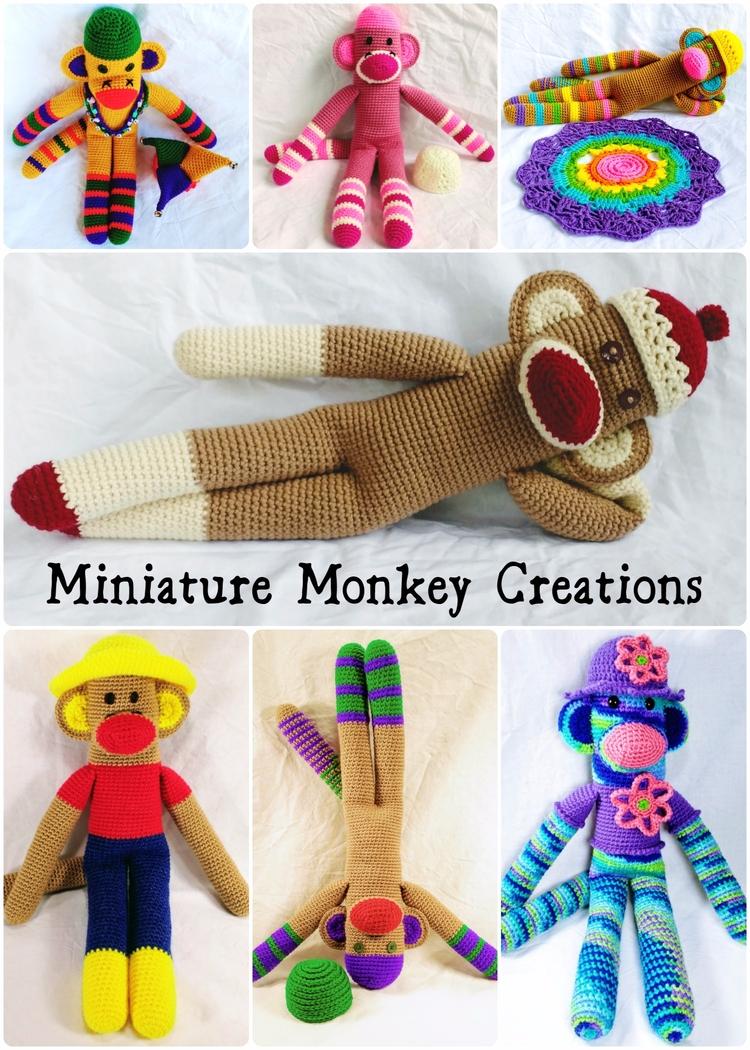 Happy plenty monkeys stock shop - miniaturemonkeycreations | ello
