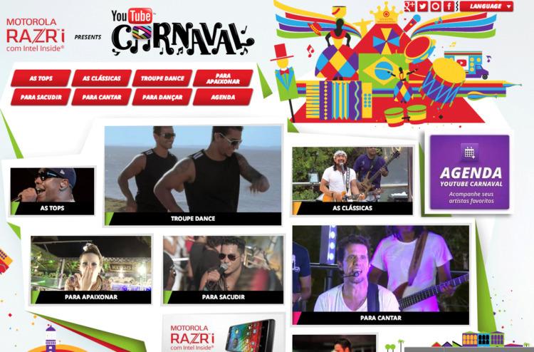Google Brazil celebrate Carniva - elloandroid | ello