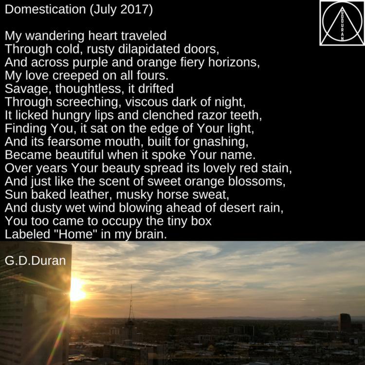 Domestication (July 2017) wande - gdduran | ello
