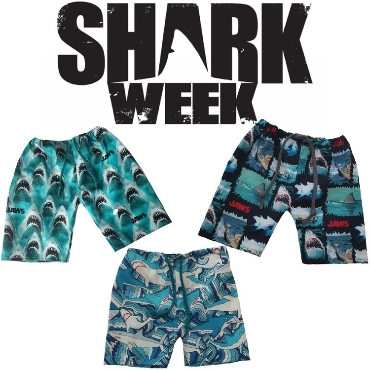 Shark week Sunday! ready? code  - santacruzthreads | ello