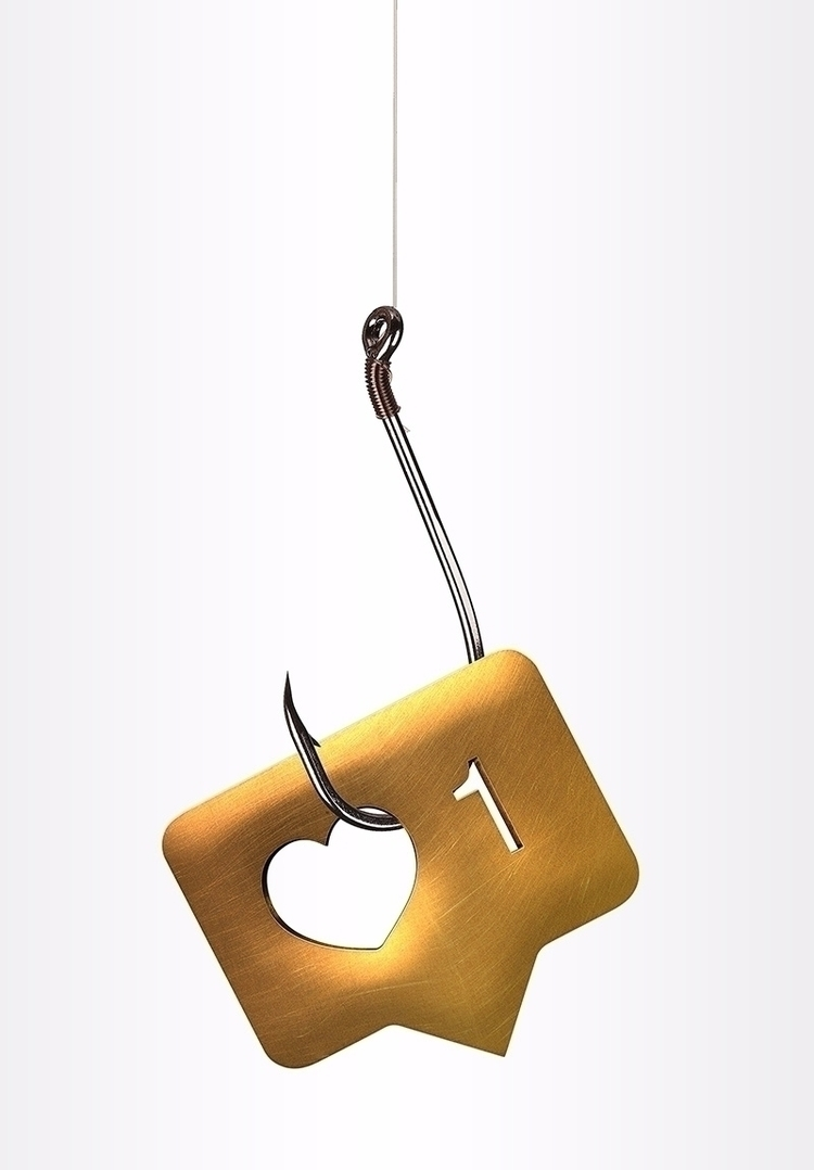 Fishing Likes - digitalart, concept - mkrinsky | ello