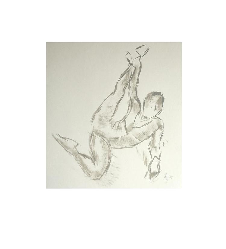 'Flexibility' shows strength, c - artbymikejory | ello