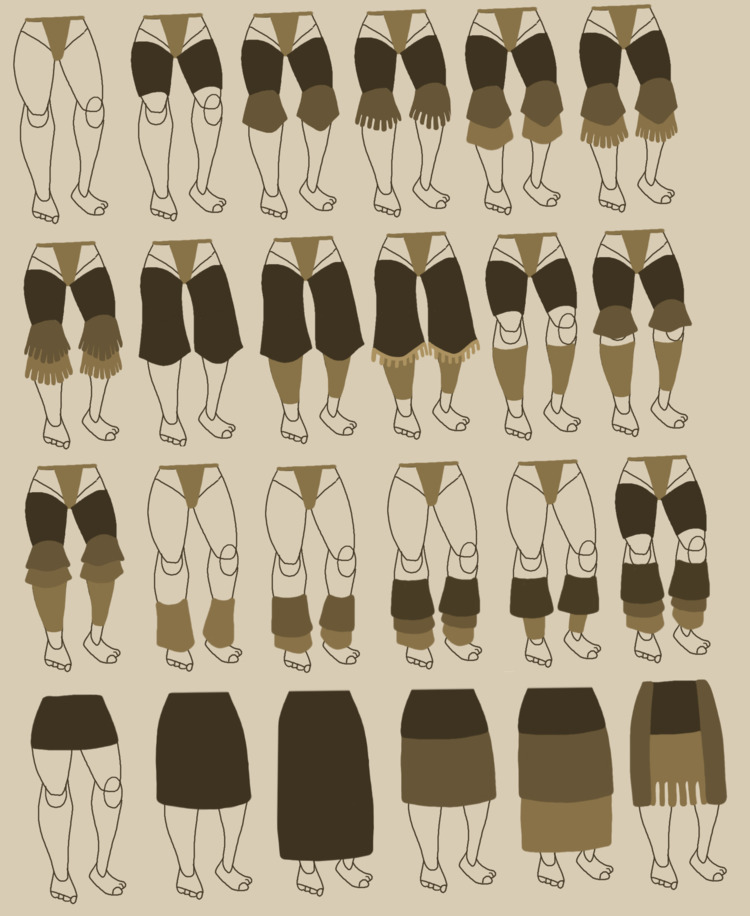 design ideas leggings skirts - artwork - emkdraws | ello