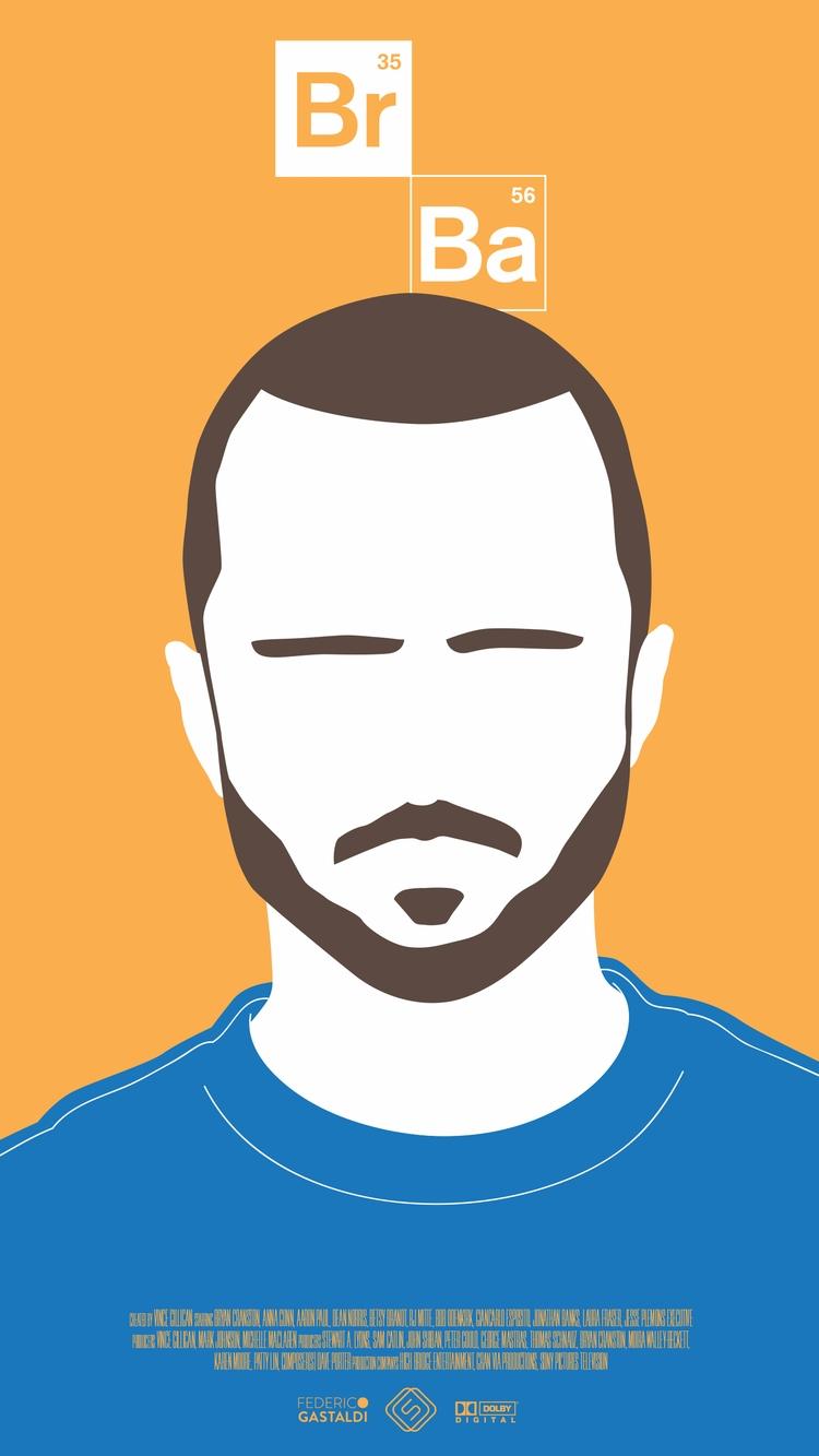 Jesse Pinkman - Breaking Bad wa - federicogastaldi | ello