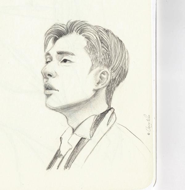 'Fight - drawing, doodle, sketch - j0eyg1rl | ello