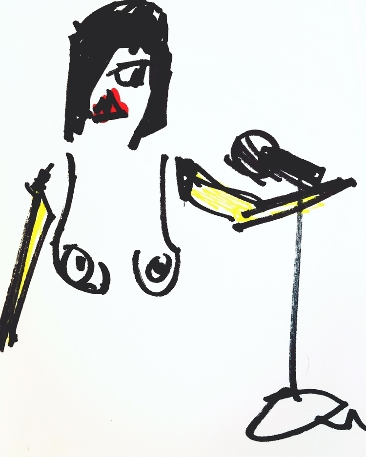 Nude Rock Star Banana Arms, Sin - jkalamarz | ello