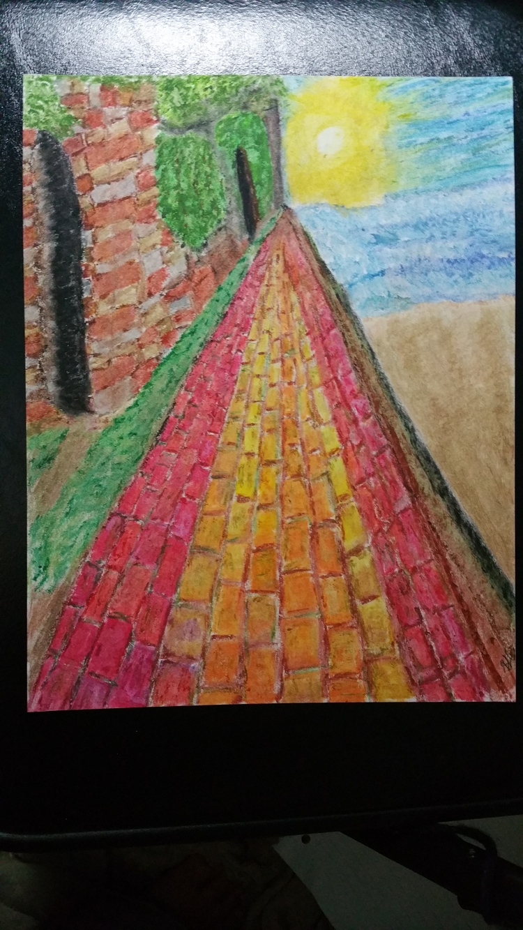 Rainbow walk, South Carolina .  - totallytwistedfickity | ello