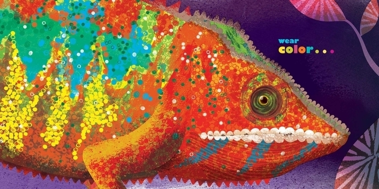 living color - jenwardbooks,, chameleon, - saltyjingjing | ello