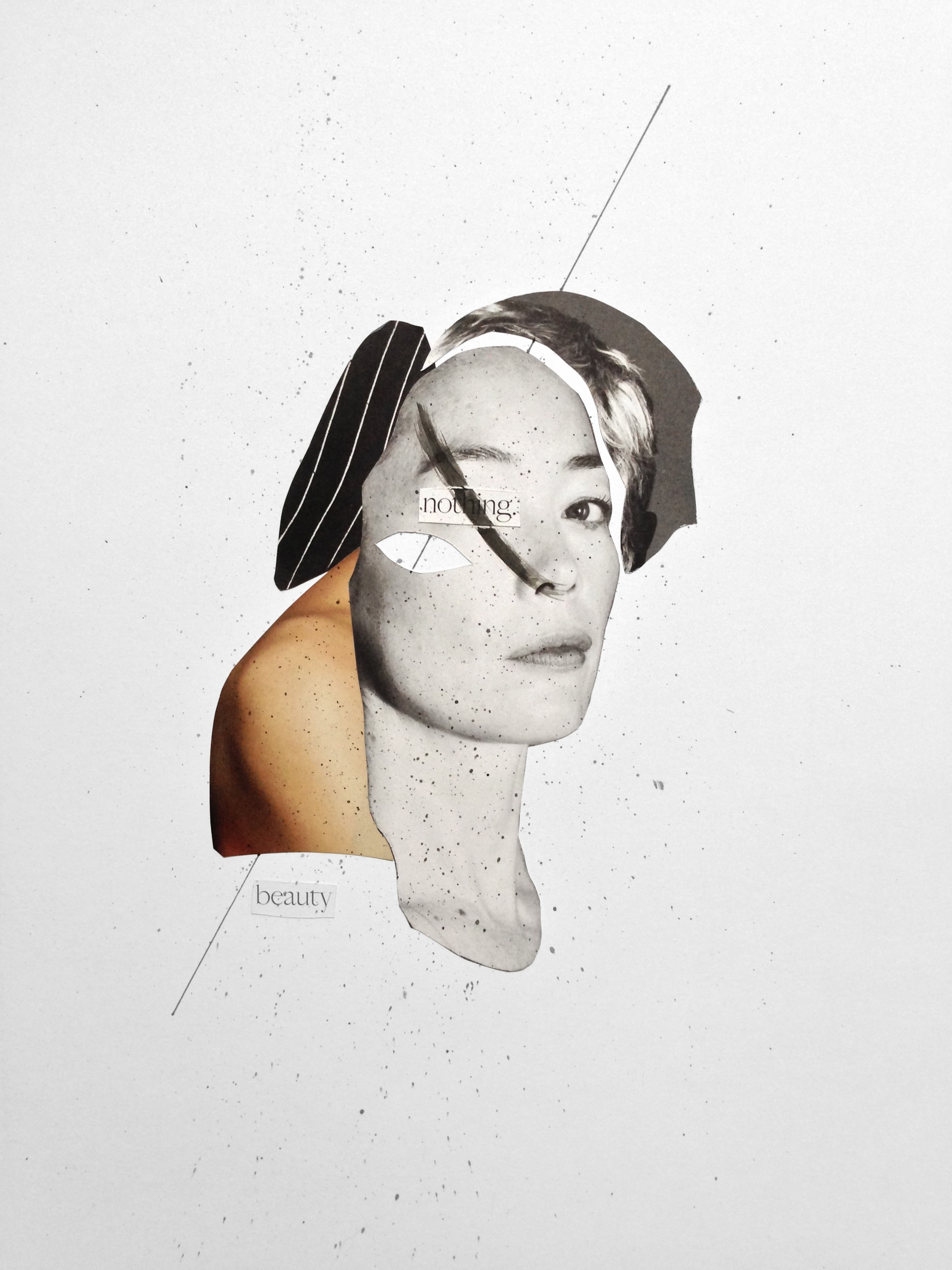 / beauty - collage, papercollage - marianagv | ello