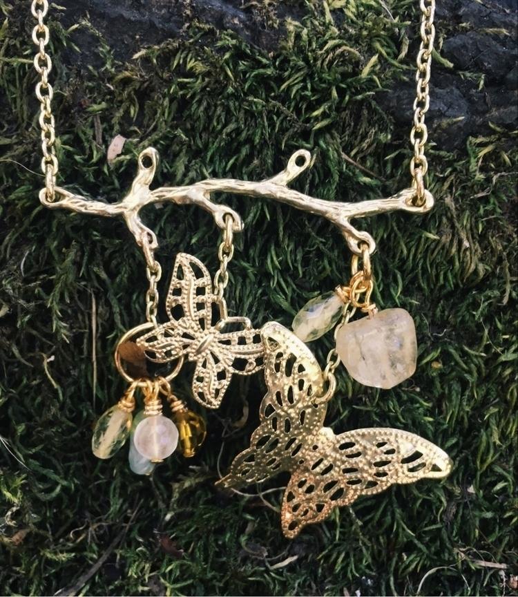 Tree Branch chain necklace butt - gypsyxjewels | ello