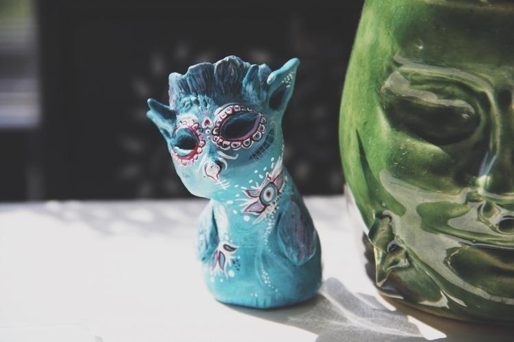 totem, sculpting, creature, beast - mikaelaelle | ello